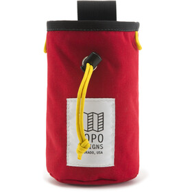 Topo Designs Chalk Bag red/black